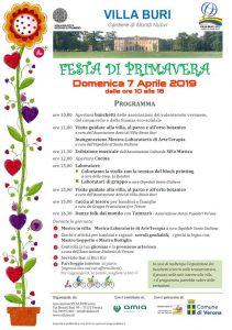Festa di primavera Villa Buri 2019