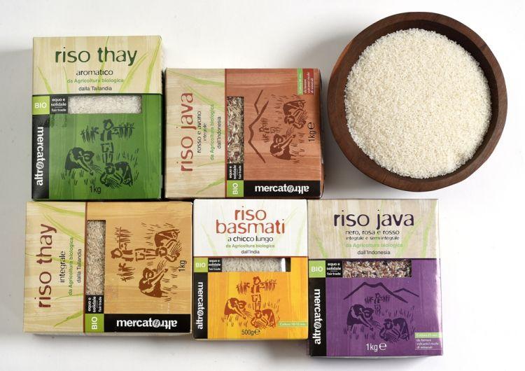 riso bio altromercato
