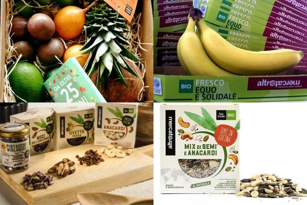 Frutta fresca e frutta secca Altromercato - banane biologiche