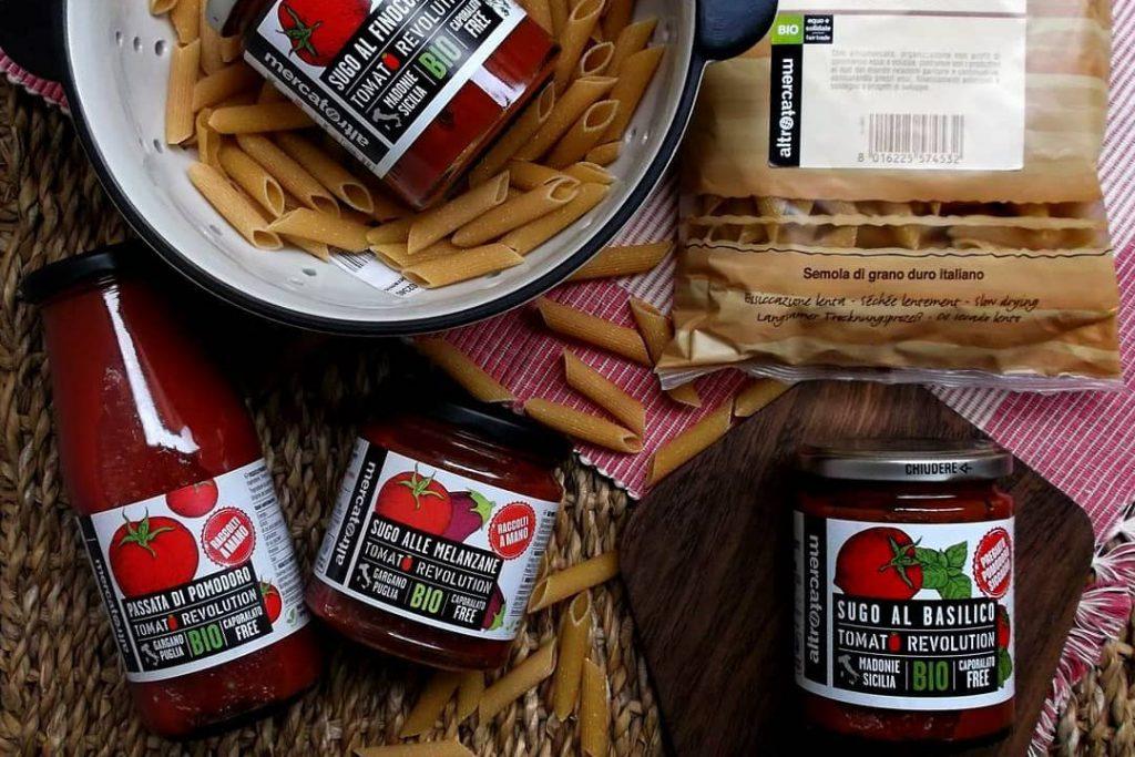 Pasta e pomodoro - tomato revolution Altromercato