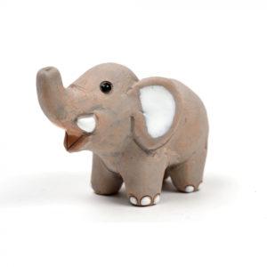 elefantino terracotta bomboniera Peru